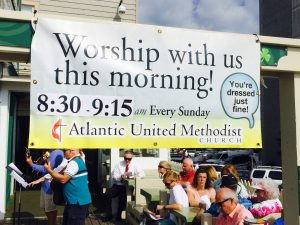 Worship Services | Atlantic United Methodist Church Ocean City MD